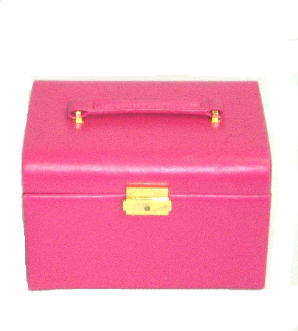 Porta Jóia de Luxo Pink