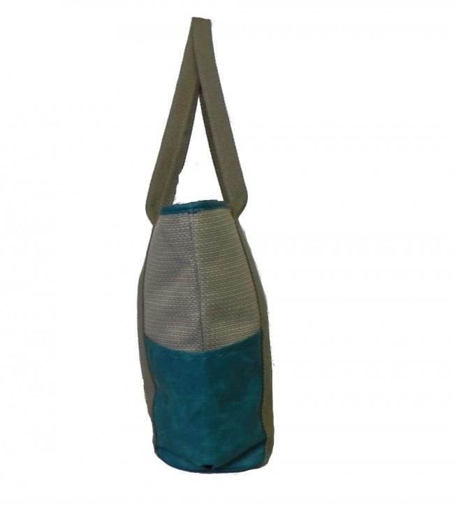 Bolsa De Ombro Lateral : Bolsa de ombro em rafia portal da
