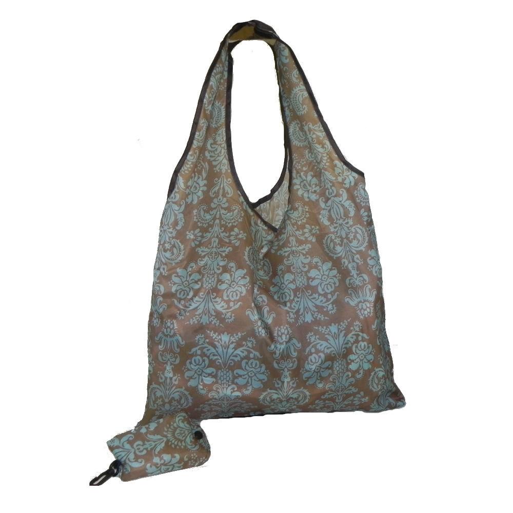 Eco Bag Floral Verde