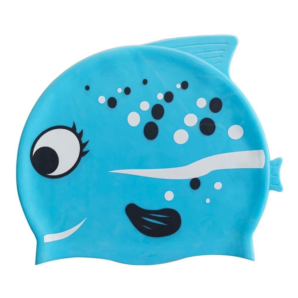Touca para natação peixinhos