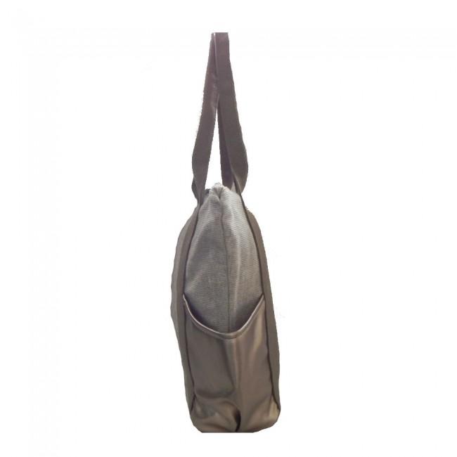 Bolsa Sacola Lona Dourada - Portal da bolsa a0031c7c309