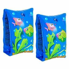 Boia de Braço Peixinhos Azul