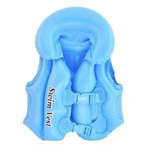 Colete Inflável Infantil Azul