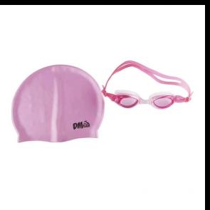 Kit Natação com Óculos e Touca